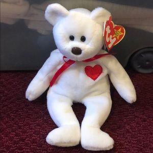 Ty Beanie Baby Valentino  Rare  #4058  2-14-94